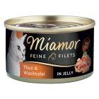 Miamor Fine Filets in Jelly -kokeilupakkaus 12 x 100 g