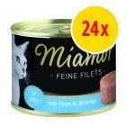 Miamor Fine Filets 24 x 185 g