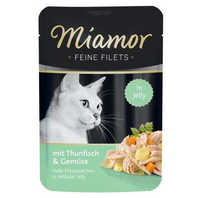 Miamor Fine Fillets in Jelly Saver Pack 24 x 100g