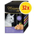 Miamor Fine Fillets Mini Pouch Multibox -säästöpakkaus 32 x 50 g