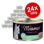 Miamor Fine Fillets Saver Pack 24 x 100g