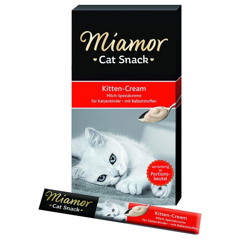 Miamor Kitten Snack crema de leche para gatitos