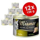Miamor Naturelle finom filék próbacsomag 12 x 156 g
