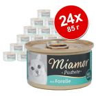 Бонус опаковка Miamor Pastete 24 x 85 г