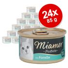 Miamor Paté 24 x 85 g - Pack Ahorro