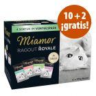 Miamor Ragú Royal 12 x 100 g en oferta: 10 + 2 ¡gratis!