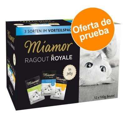 Miamor Ragú Royal 12 x 100 g - Pack de prueba