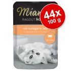 Miamor Ragout Royale Kitten -säästöpakkaus 44 x 100 g