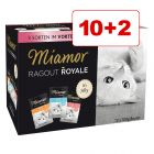 Miamor Ragout Royale -valikoima 12 x 100 g: 10 + 2 kaupan päälle!