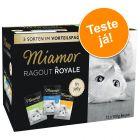 Miamor Ragout Royale 12 x 100 g - Pack de experimentação misto