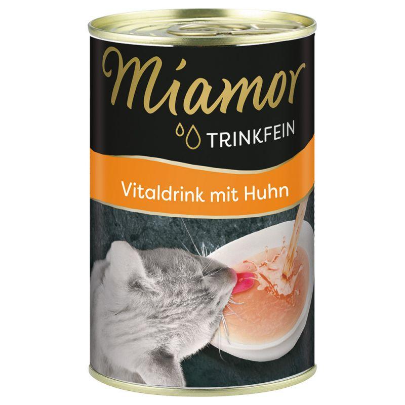 Miamor Trinkfein 6 x 135 ml bebida revitalizadora para gatos
