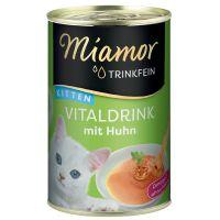 Miamor Vitaldrink Kitten napój dla kota, 24 x 135 ml