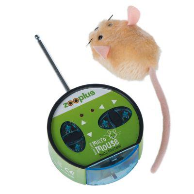 VITAKRAFT para Gatos Juguete a Control Remoto en Forma de rat/ón