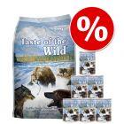 Mieszane żywienie: 12,2 kg Taste of the Wild + 6 x 390 g Taste of the Wild karma mokra!