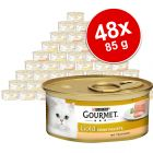 Mieszany megapakiet Gourmet Gold Mus, 48 x 85 g