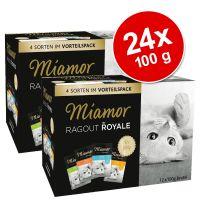 Mieszany megapakiet Miamor Ragout Royale, 24 x 100 g
