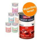 Mieszany pakiet Animonda GranCarno Original Adult, 6 x 400 g