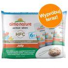 Mieszany pakiet próbny Almo Nature HFC Pouch, 6 x 55 g