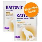 Mieszany pakiet próbny Kattovit Urinary, 2 x 1,25 kg