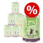 Mieszany pakiet zooplus Bio, 6 x 400 g w super cenie!