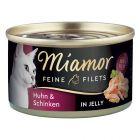 Mieszany zestaw próbny Miamor Feine Filets, 12 x 100 g