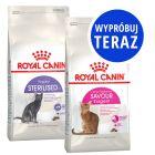 Mieszany zestaw próbny Royal Canin, 2 x 2 kg