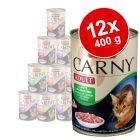 Miješano pakiranje Animonda Carny Adult 12 x 400 g