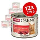 Miješano pakiranje Animonda Carny Adult 12 x 200 g