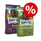 Miješano pakiranje Happy Dog Supreme 2 x 12,5 kg po posebnoj cijeni!