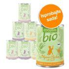 Miješano probno pakiranje: zooplus Bio hrana za mačke 6 x 400 g