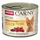 Mix Sparpaket Animonda Carny Kitten 12 x 200 g
