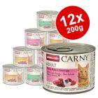 Mixed Megapack Animonda Carny Adult 12 x 200g