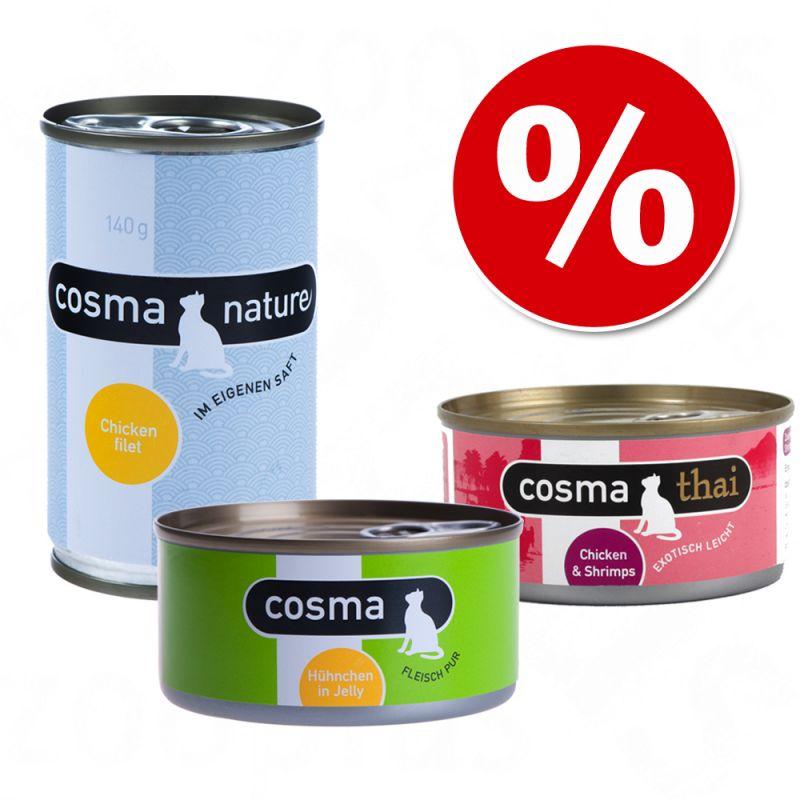 Mixed Pack - Cosma Original + Cosma Thai + Cosma Nature