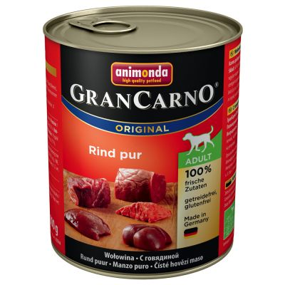Mixed Paket Animonda GranCarno Original Adult 6 x 800 g