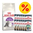 Mix-Paket Royal Canin 2/1,5 kg + 12 x 85 g Pouch in Soße