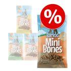 Mixpaket Barkoo Mini Bones (semi-moist) 4 x 200 g
