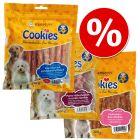 Mixpaket: Cookies Hähnchen Snacks zum Probierpreis