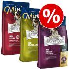 """Mixpaket: 3 x 4 kg Happy Dog Supreme Mini """"Kleine Weltreise"""""""