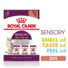 Mix-pakke: Royal Canin Sensory i sauce