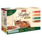Mixpakket Animonda Rafiné Soupé Kattenvoer 12 x 100 g