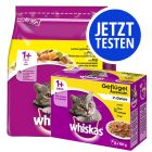 Mix-Probierpaket Whiskas - 800 g Trockenfutter + 12x Pouches