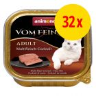 Mix-Sparpaket Animonda vom Feinsten 32 x 100 g