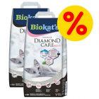 Mix-Sparpaket Biokat´s DIAMOND CARE Fresh + Classic Katzenstreu