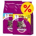 Mix-Sparpaket Whiskas 1+ 2 x 3,8 kg