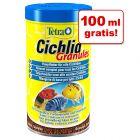 100 ml gratis! TetraCichlid Granulat dla pielęgnic, 500 ml