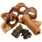 Mélange de viandes séchées pour chien