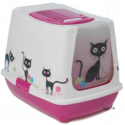 Moderna Products Covered Litter Box Trendy Cat Funny