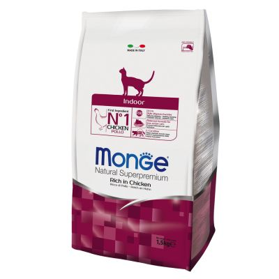 Monge Natural Superpremium Indoor Ricco di Pollo