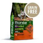 Monge Superpremium BWild Grain Free All Breeds Adult Anatra con Patate