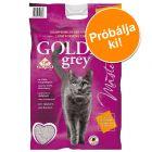 Most tesztelje: 14 kg Golden macskaalom